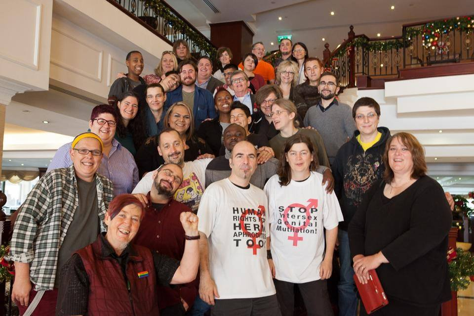 Participants at the third International Intersex Forum held in Malta, December 2013
