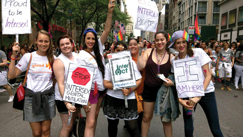 interACT activists at Pride. Photo credit: interACT
